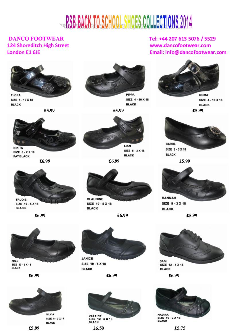 Danco Footwear - RSB Shoes - School
